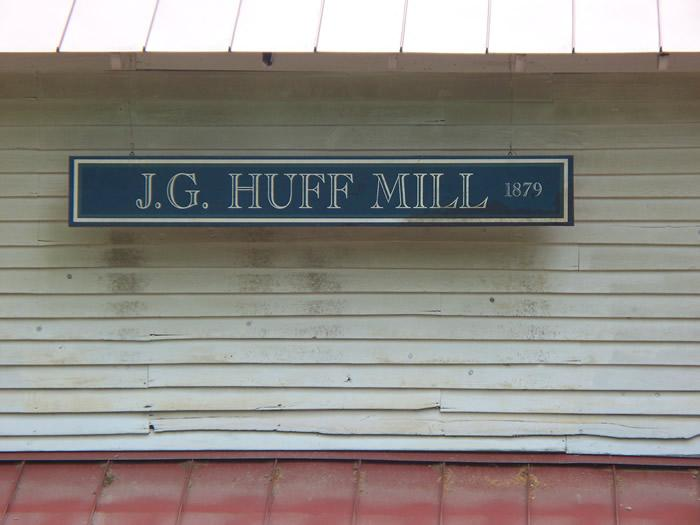J.G. Huff Mill / Algood's Mill / Yadkin Valley Mill / Butner Mill
