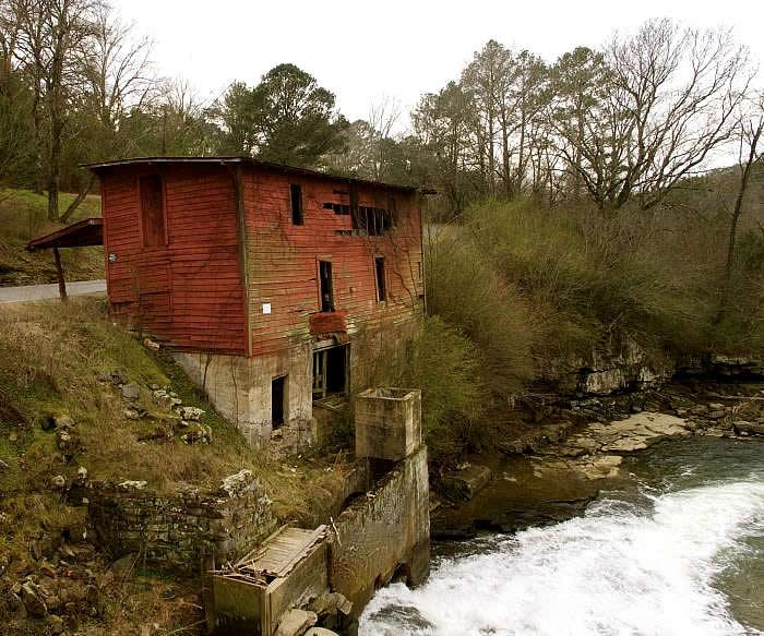 Mill at Double Bridges/Old Red Mill