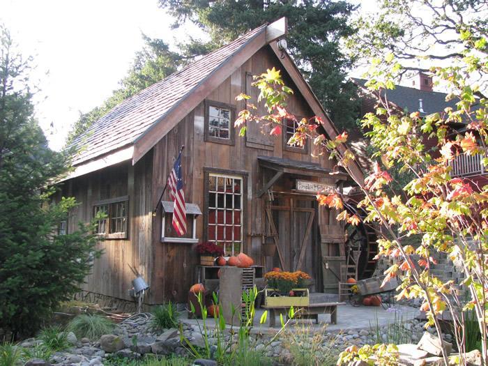 Pumpkin Hollow Grist Mill-replica