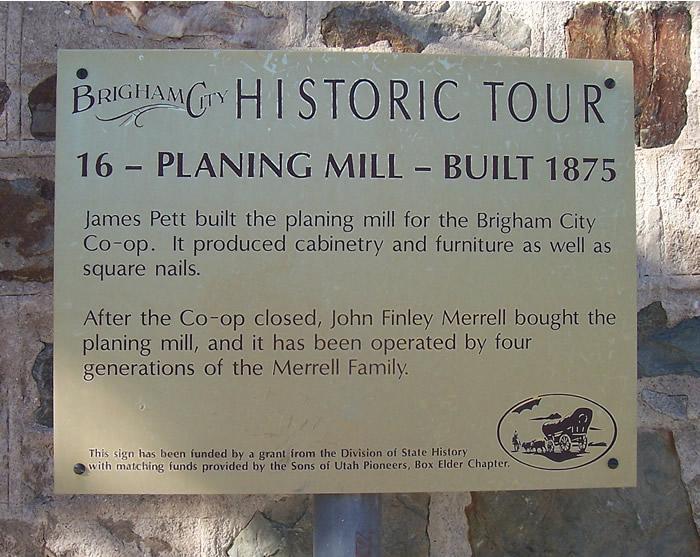 Pett-Merrell Planing Mill