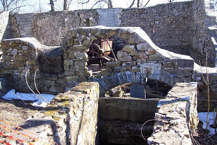 Ruins Huntmill Pollock Mill Chester Co Pennsylvania