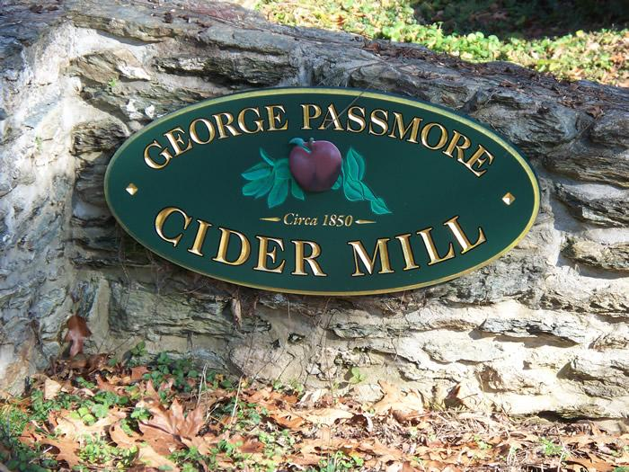 George Passmore's Cider Mill Site