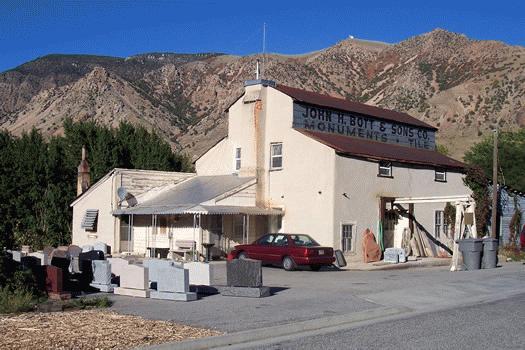Box Elder Grist Mill / Smith-Snow Flour Mill / John Bott & Sons Monument & Tile Co