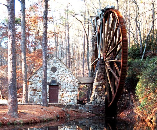 Old Mill At Berry College Floyd Co Georgia