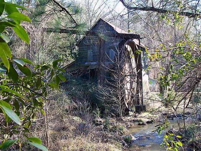 Healan Mill Head Mill Hall Co Georgia