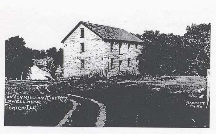 Lowell Grist Mill-ruins/site