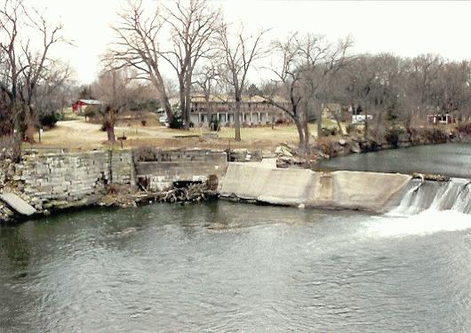 Cottonwood Falls Mill Site Chase Co Kansas