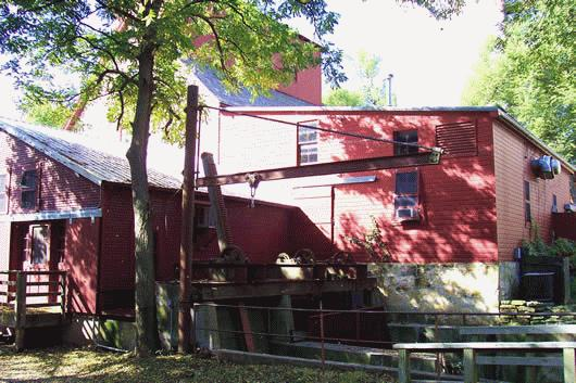 Champeny Old Oxford Mill Sumner Co Kansas