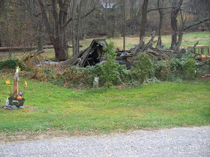 Englar's Mill ruins