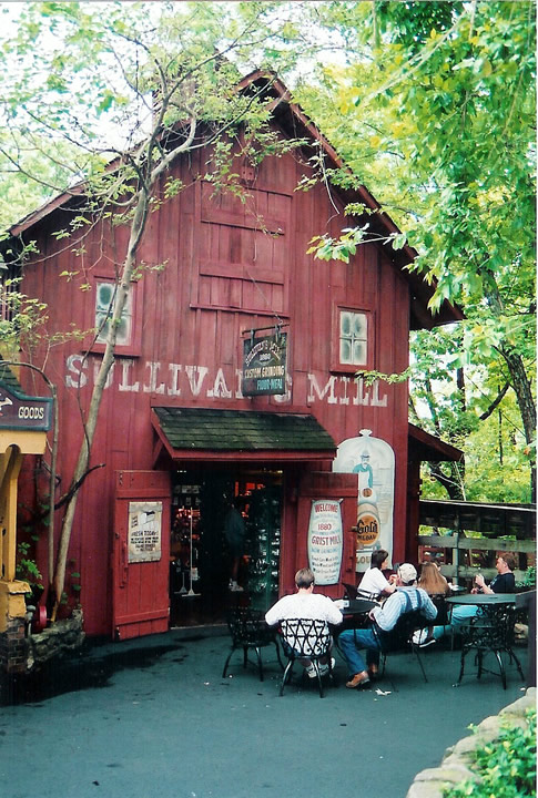 Sullivan S Mill Silver Dollar City Grist Mill Stone Co Missouri
