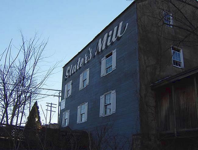 Joseph Slater's Felt Mill