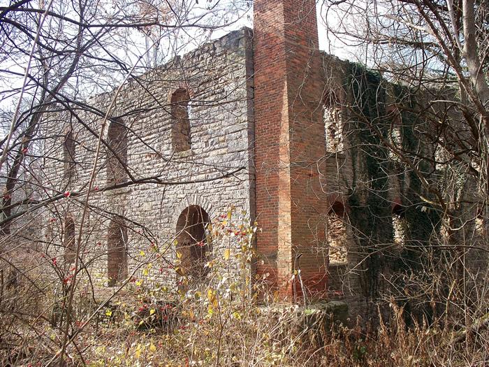 Beiber Mill ruins