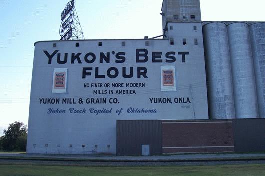 Yukon Flour Mill Amp Grain Co Canadian Co Oklahoma