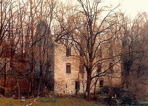 RUINS: Old Ansbach Mill / Schultz's Mill