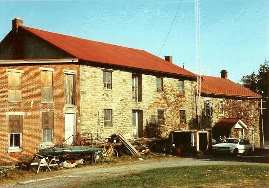 Schaeffer-Wanner Grist Mill / Old Fleetwood Grist Mill