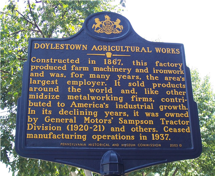 Doylestown Agricultural Works / Ruos, Mills & Co.