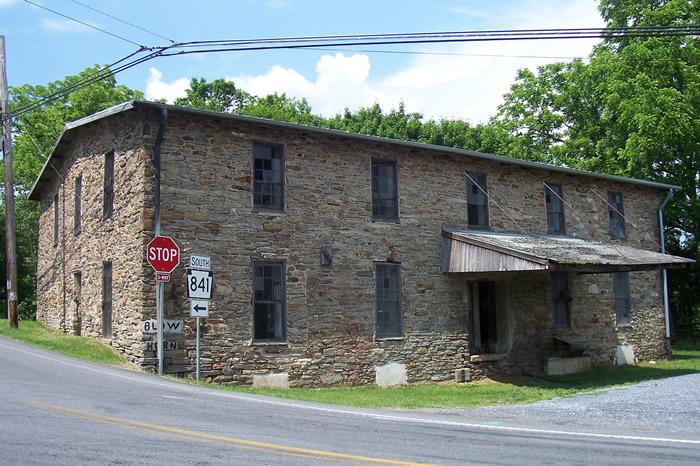 Isaac Evans Mill