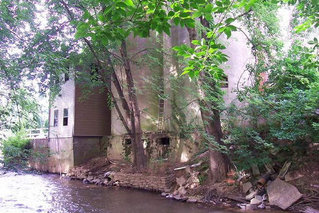 Spanglers Flour Mill-remnants