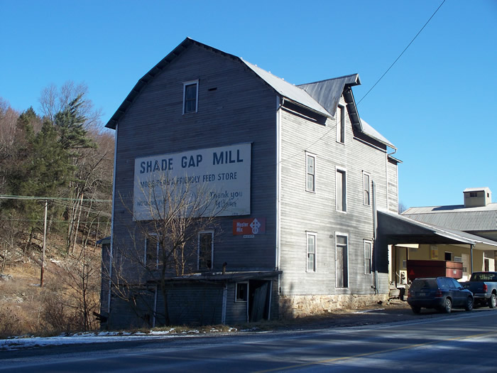 C.J. Hess Mill / Shade Gap Feed & Flour Mill