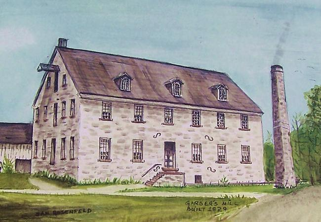 Site:  Samuel Scott Mill / R. Garber & Son / Salunga Mills