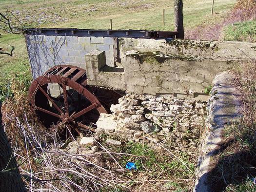 Site/Ruins:   Whiteside's Mill