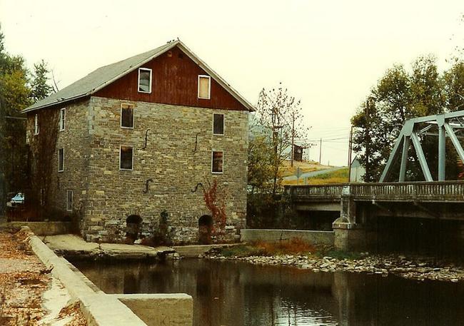 Kern S Grist Mill Lehigh Co Pennsylvania