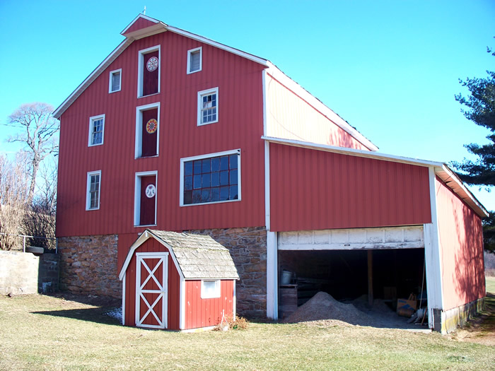 H. Umboltz Grist Mill / Old Red Mill