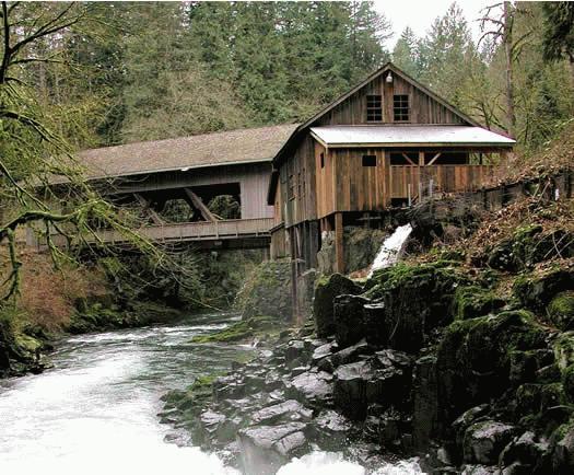 Cedar creek grist mill aka red bird mill clark co for The cedar mill